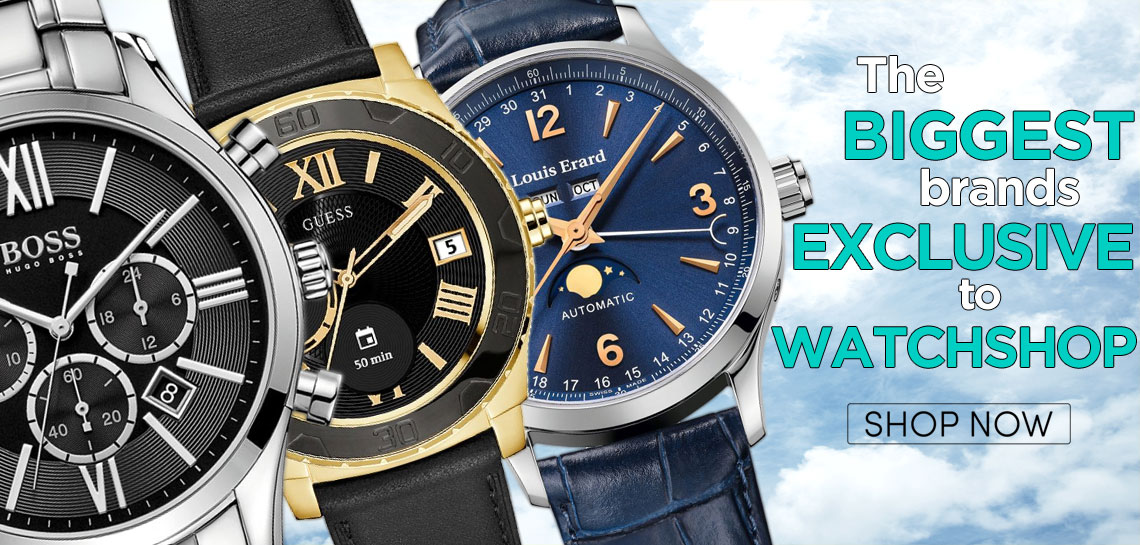 Exclusive to Watchshop
