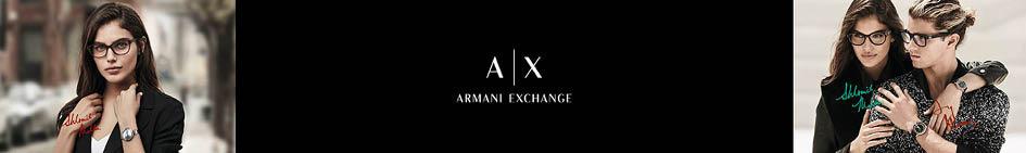 Armani Exchange bannière Logo