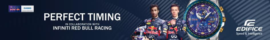 Casio - Montres Edifice éditions Red Bull