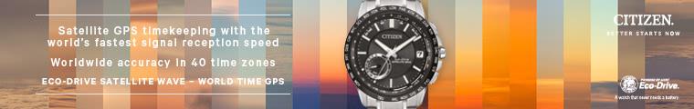 Citizen Satellite Welle Uhren