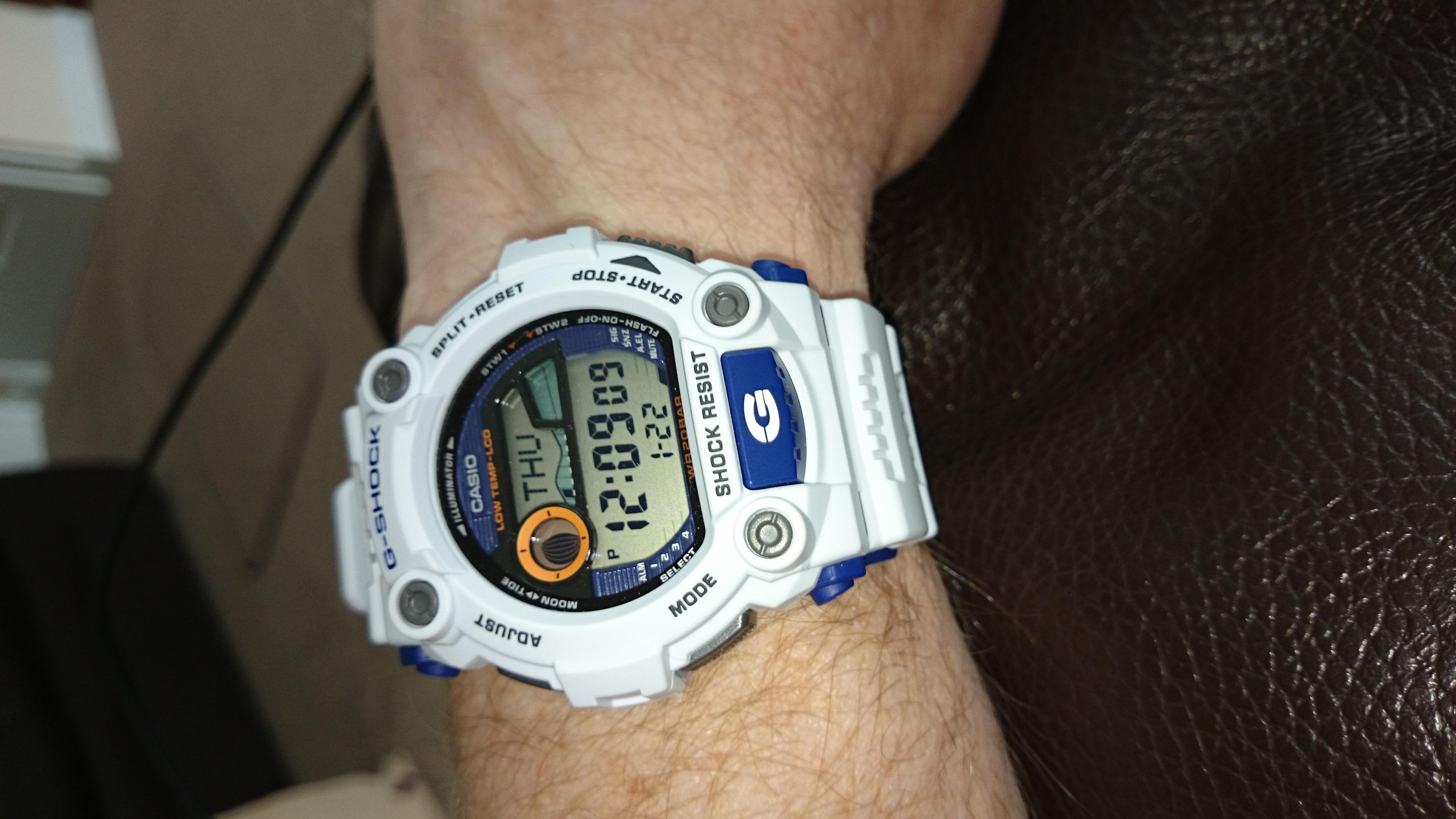 casio tide watch instructions
