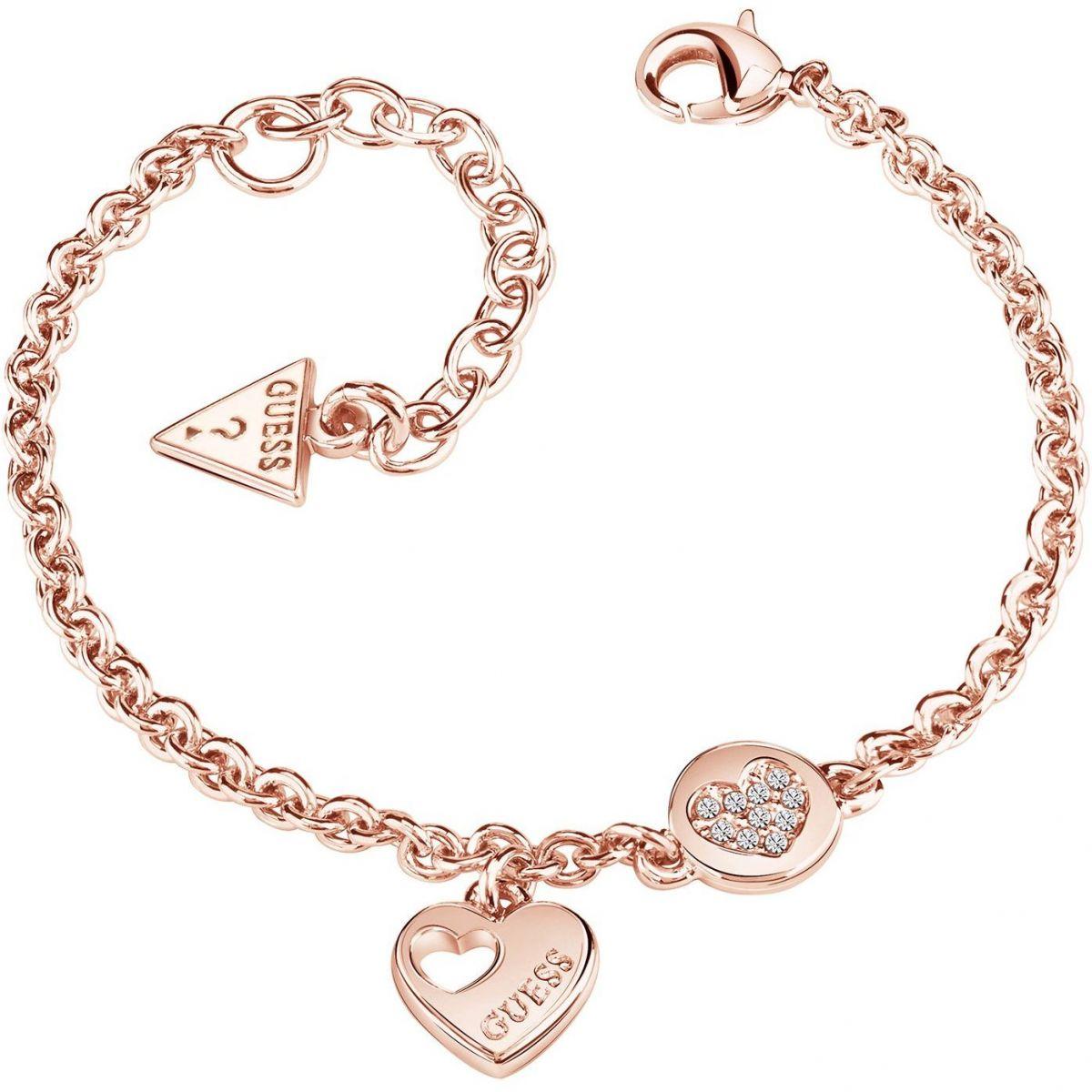 guess bracelet rose gold images