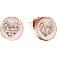 Biżuteria damska Guess Jewellery Heart Devotion Earrings UBE82044