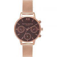 Ladies Olivia Burton Chrono Detail Midi Watch
