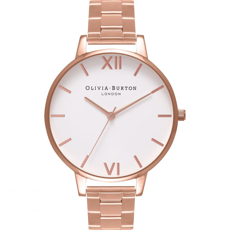 Damen Olivia Burton Big Dial Bracelet Watch OB16BL33