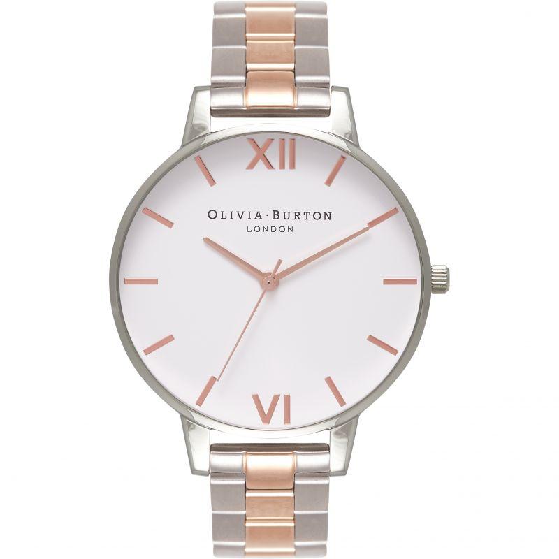 femme Olivia Burton Big Dial Bracelet Watch OB16BL32