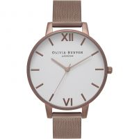 Ladies Olivia Burton Big White Dial Watch