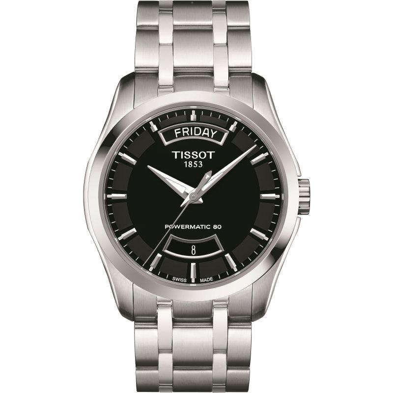 Herren Tissot Couturier Powermatic 80 Watch T0354071105101