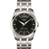 homme Tissot Couturier Powermatic 80 Watch T0354071105101