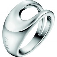 Ladies Calvin Klein Stainless Steel Size P Shade Ring