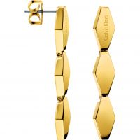 Ladies Calvin Klein PVD Gold plated Earring KJ5DJE100100