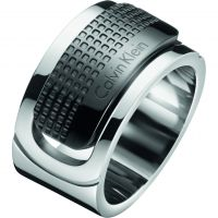 Mens Calvin Klein Stainless Steel Size X/Y Confidence Ring