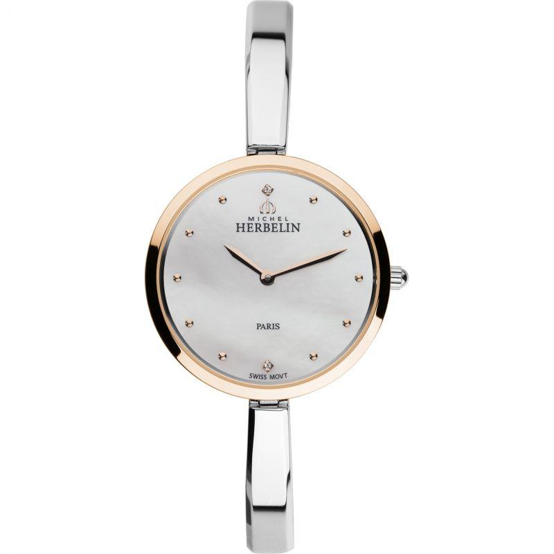 Damen Michel Herbelin Salambo Watch 17411/BTR19