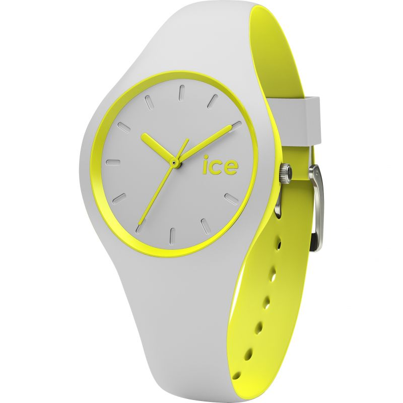 Ladies Ice-Watch Duo Grey-Yellow Watch 001492