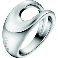 Damen Calvin Klein Edelstahl Größe L.5 Ring