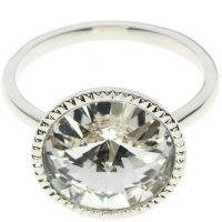 femme Ted Baker Jewellery Rada Rivoli Crystal Ring ML Watch TBJ1159-01-02ML