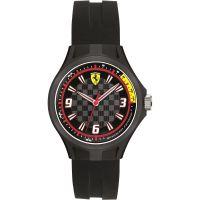 Herren Scuderia Ferrari Boxenmannschaft Uhr