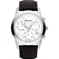 Herren Rodania Swiss schick Klassiker Chronograf Uhr