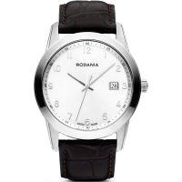 Herren Rodania Swiss schick Klassiker Uhr