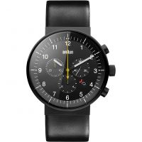 Mens Braun BN0095 Prestige Chronograph Watch BN0095BKG
