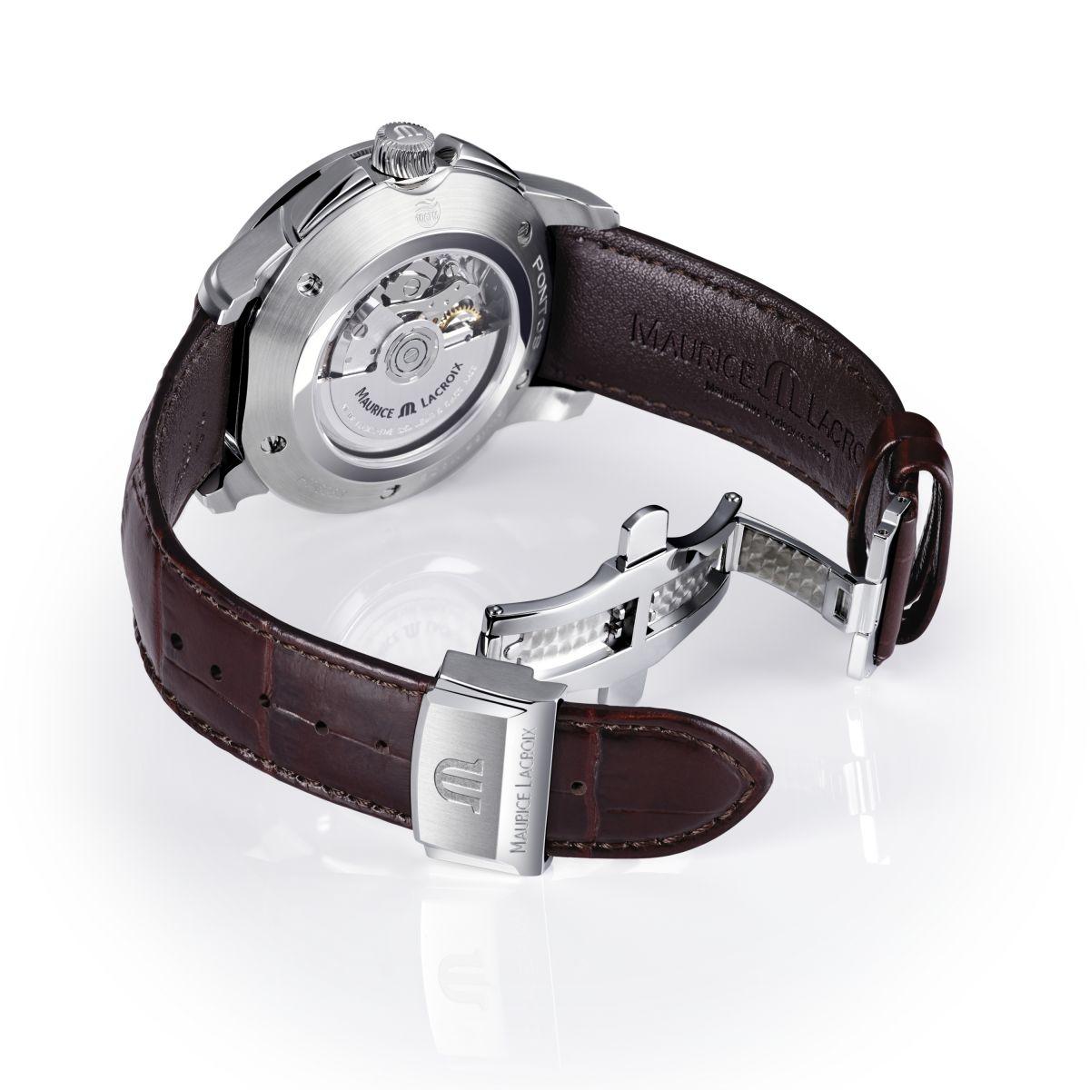 Herren Maurice Lacroix Pontos Automatik Chronograf Uhr ...