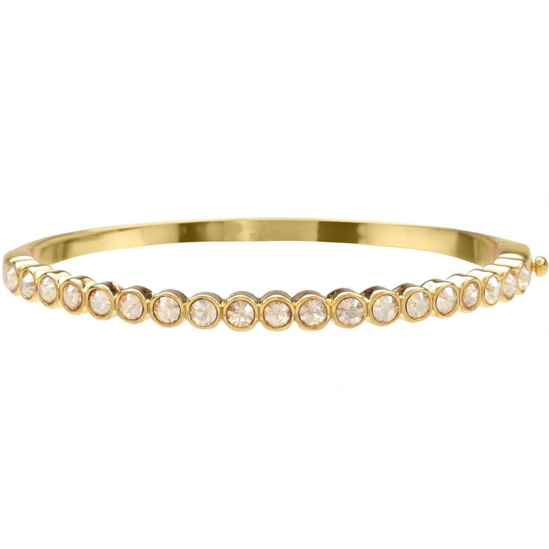 Ladies Lola & Grace Gold Plated Bangle 5028127