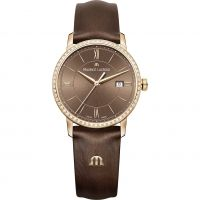 Damen Maurice Lacroix Eliros Diamond Watch EL1094-PVPD1-710-1