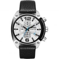 Mens Diesel Overfow Chronograph Watch