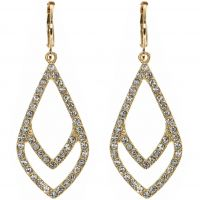 Ladies Anne Klein Gold Plated Socialite Earrings