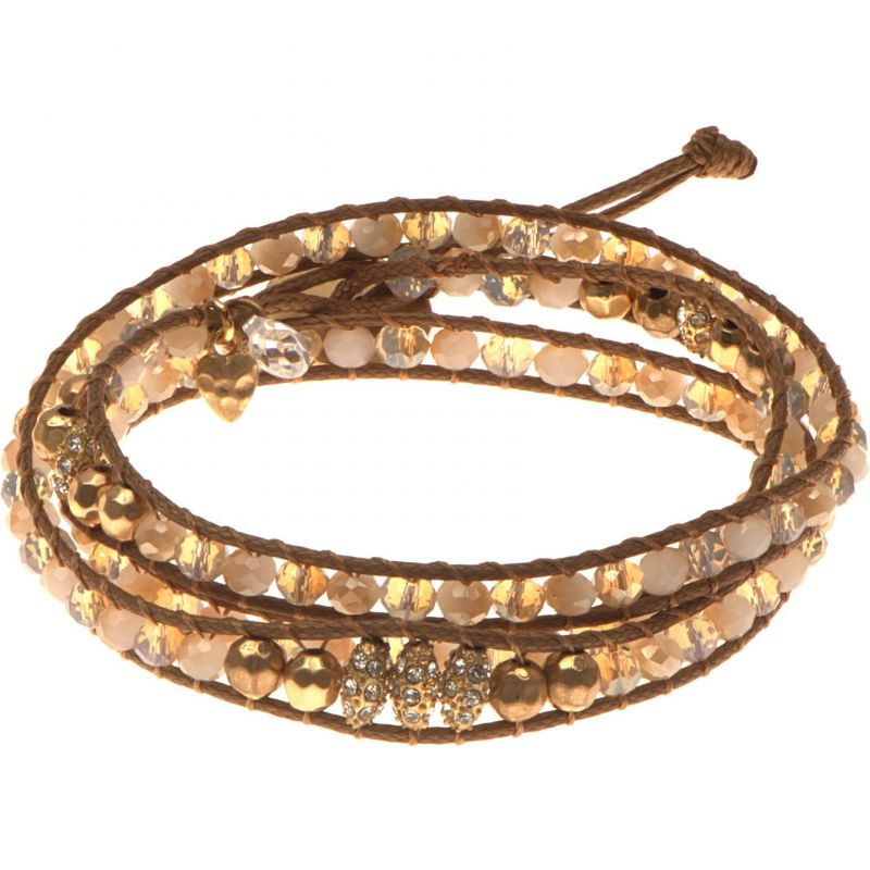 Ladies Lonna And Lilly Gold Plated Bracelet 60391008-C48