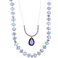 Damen Lonna And Lilly Silber Plated Double necklace