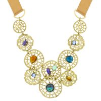 Ladies Lonna And Lilly Base metal Fancy Filigree Necklace 60441103-Z01