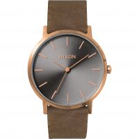 Zegarek męski Nixon The Porter Leather A1058-2441