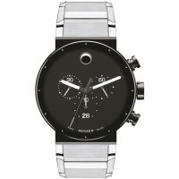 Herren Movado Sapphire Synergy Chronograph Watch 0606800