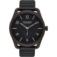 Herren Nixon The C45 Leder Uhr