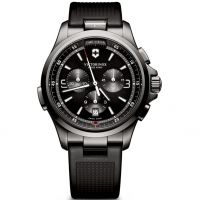 Mens Victorinox Swiss Army Night Vision Chronograph Watch
