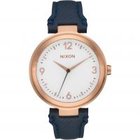 Ladies Nixon The Chameleon Leather Watch