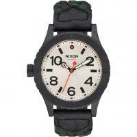 Unisex Nixon The 38-20 Leder Uhr