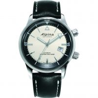 Mens Alpina Seastrong Diver Heritage Automatic Watch