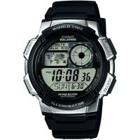 Herren Casio World Time Alarm Chronograph Watch AE-1000W-1A2VEF