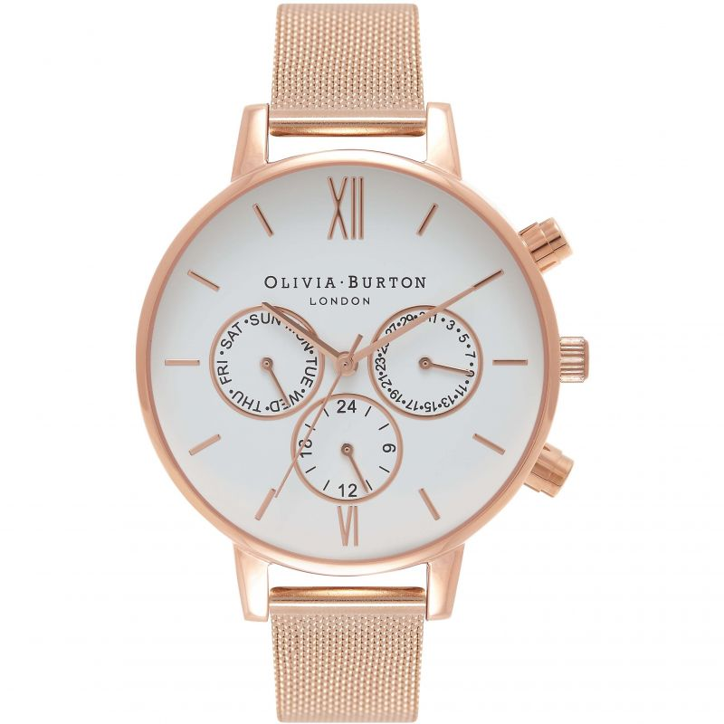 Damen Olivia Burton Chrono Detail Watch OB16CG86