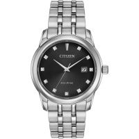 Mens Citizen Diamond Eco-Drive Watch