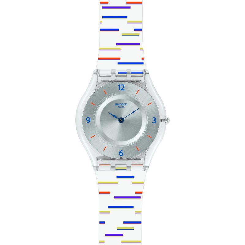 Unisex Swatch Thin Liner Watch SFE108