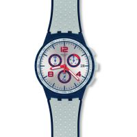 Unisex Swatch Humpy Bumpy Chronograph Watch