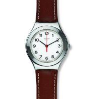 Unisex Swatch Strictly Silber Uhr