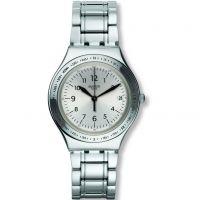 Unisex Swatch Silber Joe Uhr