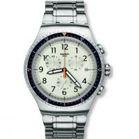 Mens Swatch Minimalis Tic Chronograph Watch