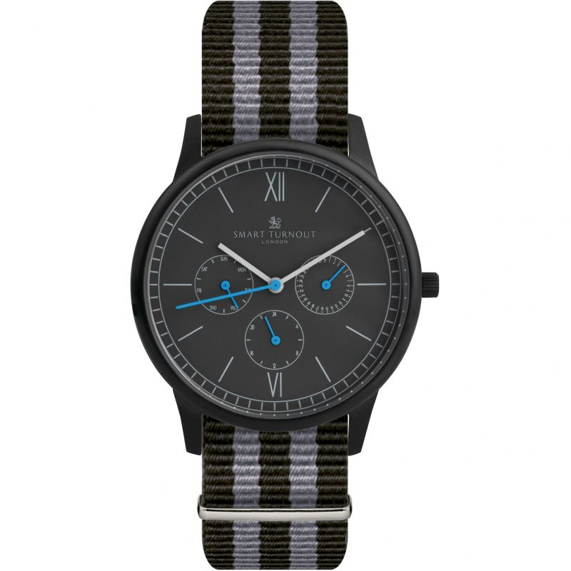 Mens Smart Turnout Time Watch STK2/BK/56/W-NATO
