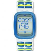 unisexe Swatch Cubezero L Alarm Watch SUVW100A