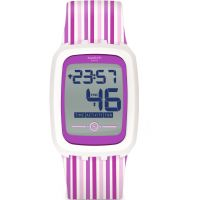unisexe Swatch Strawzero2 Bluetooth Alarm Watch SVQW100